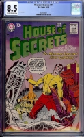 House of Secrets #11 CGC 8.5 cr/ow