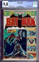 Batman #255 CGC 9.8 w