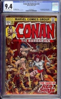 Conan The Barbarian #24 CGC 9.4 ow/w
