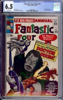 Fantastic Four Annual #2 CGC 6.5 ow