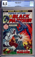 Jungle Action #5 CGC 8.5 ow