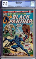 Jungle Action #6 CGC 7.0 ow