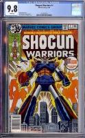 Shogun Warriors #1 CGC 9.8 w