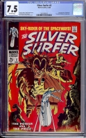 Silver Surfer #3 CGC 7.5 ow