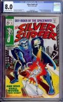 Silver Surfer #5 CGC 8.0 ow/w