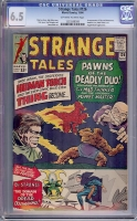 Strange Tales #126 CGC 6.5 ow/w