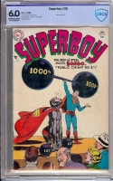 Superboy #38 CBCS 6.0 ow/w