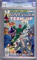 Super-Villain Team-Up #16 CGC 9.8 ow/w