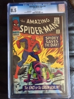 Amazing Spider-Man #40 CGC 8.5 ow/w
