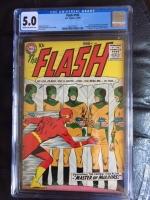 Flash #105 CGC 5.0 cr/ow