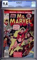Ms. Marvel #1 CGC 9.4 ow/w