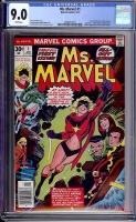 Ms. Marvel #1 CGC 9.0 w