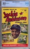 Jackie Robinson #6 CBCS 5.5 ow/w