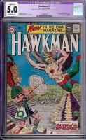 Hawkman #1 CGC 5.0 ow