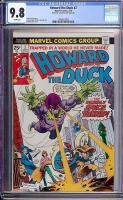 Howard the Duck #2 CGC 9.8 w
