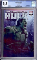 Immortal Hulk #1 CGC 9.8 w Witter Variant Cover