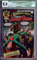 Superman's Pal Jimmy Olsen #134 CGC 8.0 ow/w
