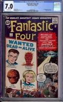 Fantastic Four #7 CGC 7.0 ow