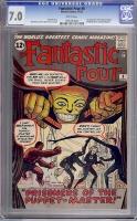 Fantastic Four #8 CGC 7.0 w