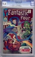 Fantastic Four #65 CGC 9.4 ow/w