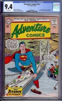 Adventure Comics #315 CGC 9.4 ow