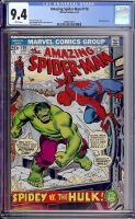 Amazing Spider-Man #119 CGC 9.4 w