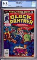 Black Panther #1 CGC 9.6 ow/w
