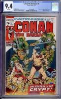 Conan The Barbarian #8 CGC 9.4 w