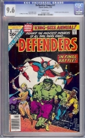 Defenders Annual #1 CGC 9.6 w