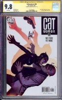 Catwoman #49 CGC 9.8 w CGC Signature SERIES
