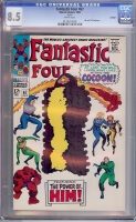 Fantastic Four #67 CGC 8.5 w REPRINT