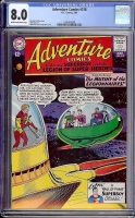 Adventure Comics #318 CGC 8.0 cr/ow