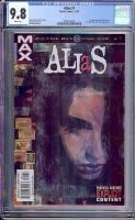 Alias #1 CGC 9.8 w