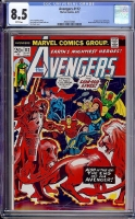 Avengers #112 CGC 8.5 w