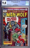 Creatures On The Loose #30 CGC 9.8 ow/w