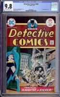 Detective Comics #446 CGC 9.8 ow/w