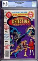 Detective Comics #485 CGC 9.8 ow/w