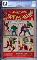 Amazing Spider-Man #4 CGC 8.5 cr/ow