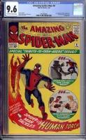 Amazing Spider-Man #8 CGC 9.6 ow/w