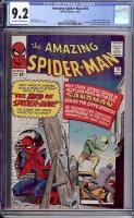 Amazing Spider-Man #18 CGC 9.2 ow/w