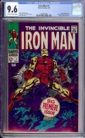 Iron Man #1 CGC 9.6 ow/w