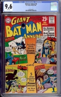 Batman Annual #4 CGC 9.6 w