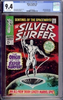 Silver Surfer #1 CGC 9.4 ow