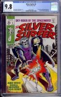Silver Surfer #5 CGC 9.8 ow/w
