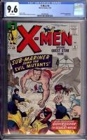 X-Men #6 CGC 9.6 w
