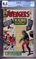 Avengers #8 CGC 8.5 ow