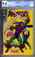 Avengers #52 CGC 9.4 ow/w