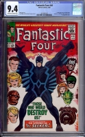 Fantastic Four #46 CGC 9.4 ow/w
