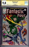 Fantastic Four #83 CGC 9.8 ow CGC Signature SERIES