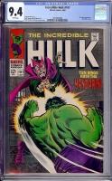 Incredible Hulk #107 CGC 9.4 w
